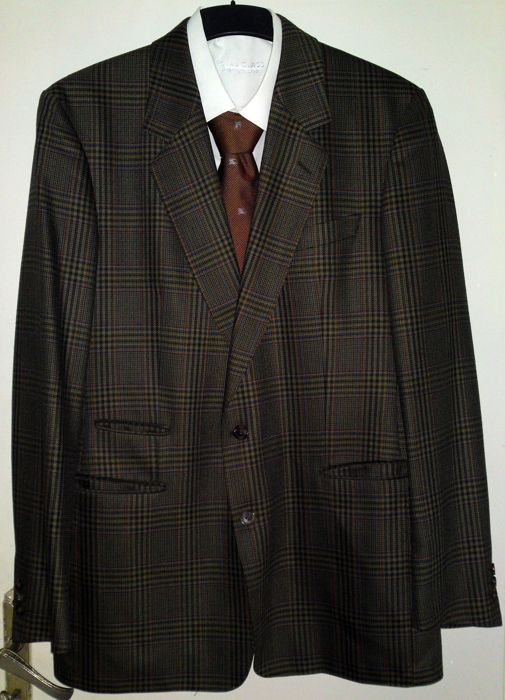"Burberry - Jacket & Tie - ""NO RESERVE"""