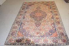 Hereke Persian rug, second half 20th century - 230 x 140 cm, with certificate of authenticity