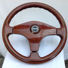Vertice wooden sports steering wheel