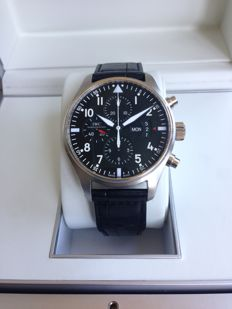 IWC Pilot Chronograph with reference IW377701
