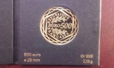 France - 500 euros 2013 'La République' - gold
