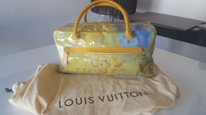 Louis Vuitton – Handbag / Weekend Bag – Limited Ed.  Richard Prince