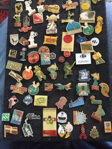 lot of pins