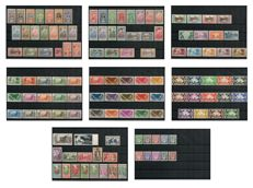 Oceania 1913-1939 – Stamp collection including Mail + Airmail + Duty