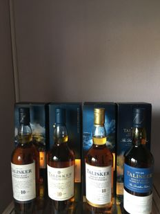 4 bottles - Talisker 2x 10 years old, 18 years old and the Distillers Edition 2002