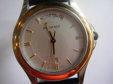 Bucherer, man's elegant quartz watch