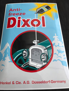 Limited edition! Dixol Anti Freeze enamel No 194/500