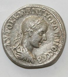 Roman Empire - Seleucis and Pieria. Antioch. Gordian III. AD 238-244. AR Tetradrachm