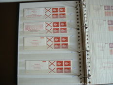 The Netherlands 1964/2001 - Collection of stamp booklets and rest collection combinations.