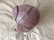 Leather Pilots Cap