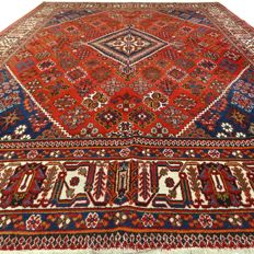 Mey-Mey - Iran - 317 x 223 cm - large, finely decorated Persian carpet - second half last century