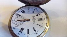 Jacques Ancre 23 Rubis –  Pocket watch – ca 1880