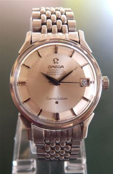 Omega Constellation Chronometer Date with a Pie Pan Dial - Men's watch