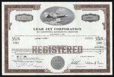 USA - Lear Jet Corporation - 1966