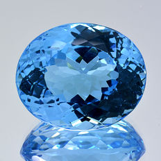 Swiss blue topaz – 30.10 ct.