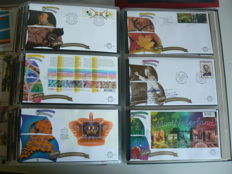 Netherlands 1977/2007 – Collection of FDCs in three DAVO albums