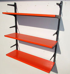 A. Dekker by Tomado - Book rack / wall unit, approx. 1970, Netherlands