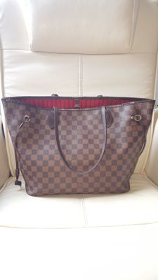 Louis Vuitton - Neverfull Damier Ebene MM
