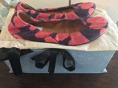 Lanvin - floral cotton ballerina size IT/EU 37 - no reserve
