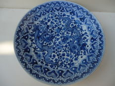Large plate - China - Late 19th century