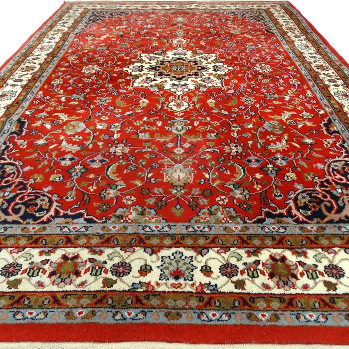 "Indo Keshan – India – 238 x 161 cm – ""Elegantly decorated oriental carpet"" – 2nd half previous century"