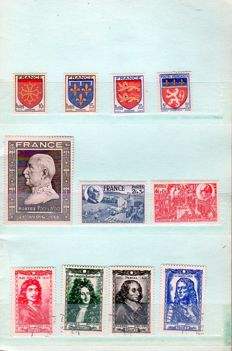 France 1944-1960 – Stamps in circulation booklet