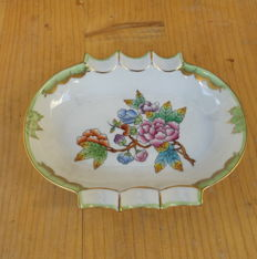 Very rare Herend - Victoria pattern VBO - asthray & basket