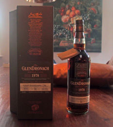 Glendronach 1978 31 Years Old - Cask no. 1040 - OB