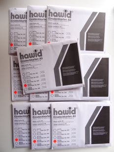Accessories – 100 Hawid stock cards and 100 Hawid protective sleeves
