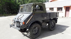 Mercedes-Benz Unimog - model 2010 25 PS - 1952