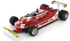 GP Replicas - Scale 1/18 - Ferrari 312 T4 French GP 1979 - Giles Villenueve