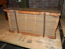 Wooden drying cabinet for cigars 1900-1930.