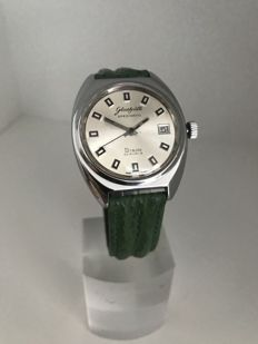 Glashütte GUB Spezimatic Bison 26 Rubins- mint condition