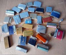 Lot of 30 lighters - a.o. Rowenta, Ronson, etc.