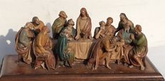 The last supper – Italian sculpture - ca 1960