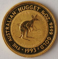 Australia - 15 Dollars 1993 'The Australian Nuget' - 1/10 oz gold