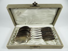 Antique WMF silver plated spoons art nouveau art deco deco jugendstil marked