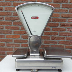 Berkel type E stainless steel weighing scale