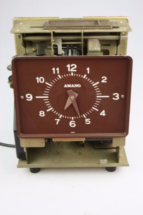 Japanese time clock prt2bmw