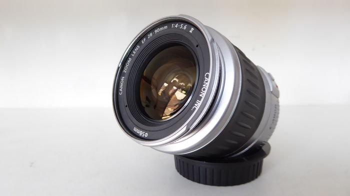 Canon 28-90 EF (macro) with filter