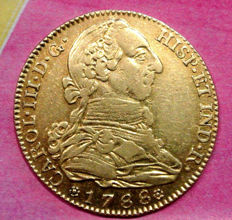 Spain - Charles III - 4 Escudos - 1788 - Madrid