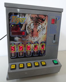 TIGER - Vintage videopoker 1^edition working - 2001