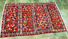 Persian Mafrash – kilim – rug – Nomads – 190 cm x 115 cm – Iran – first half 20th century