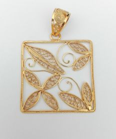 18kt Gold Pendant 800/1000