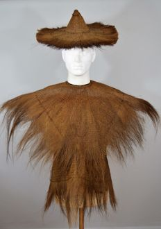Coir Rain Coat - Chejing Province - SOUTHERN CHINA