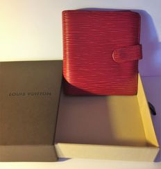 Louis Vuitton - Red Epi Leather Wallet