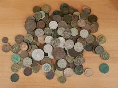 Kingdom of Italy, lot of 200 coins, Vittorio Emanuele II / III and Umberto I