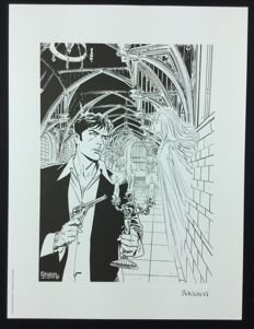 Brindisi, Bruno - Lithograph of Dylan Dog: Il Fantasma di Anna Never