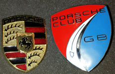Porsche Club GB car badge - Enamel finish - Porsche Boxster MK1 3D DESIGN replacement badge