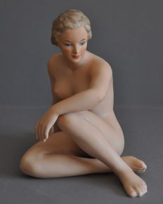 Wallendorf,  porcelain female nude